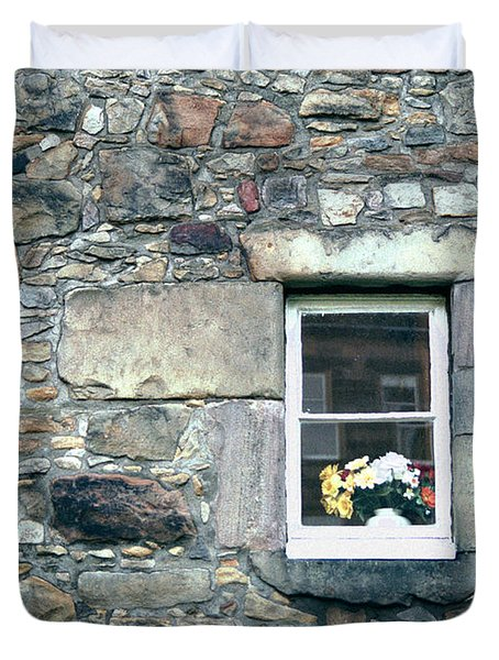 St. Mary's Window Duvet Cover