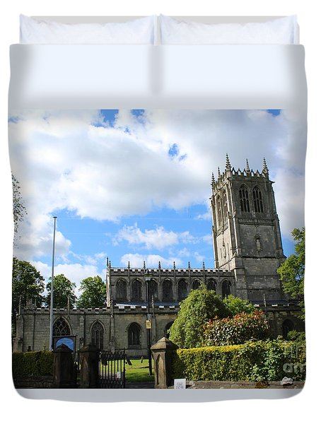 St. Mary's,tickhill Duvet Cover