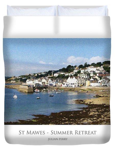 St Mawes - Summer Retreat Duvet Cover