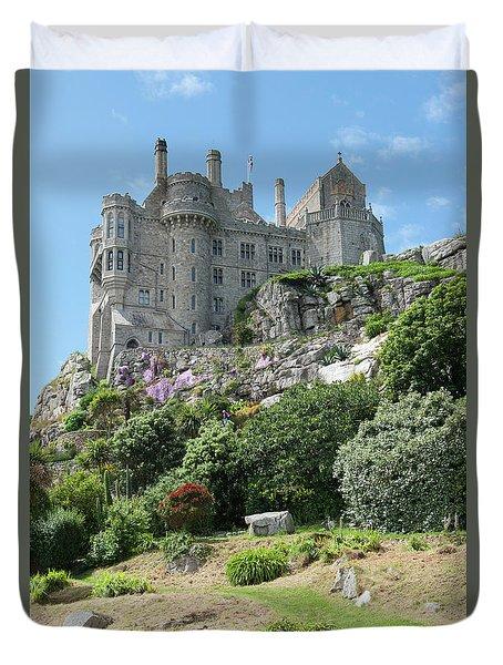 St Michael's Mount Castle II Duvet Cover