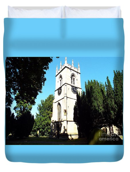 St. Michael's,rossington Duvet Cover