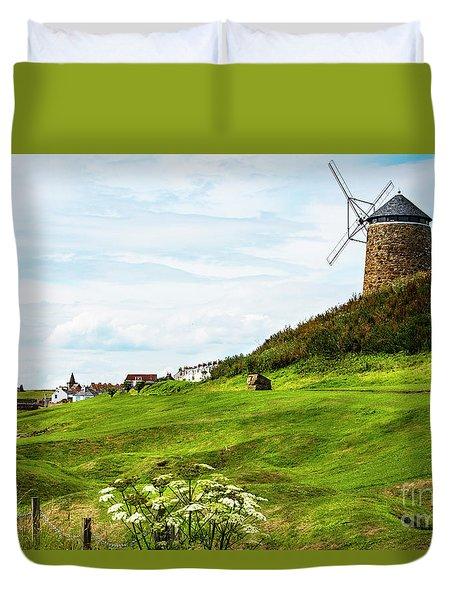 St Monans Windmill Duvet Cover