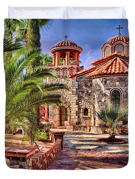 St. Nicholas Chapel Duvet Cover by Matt Suess