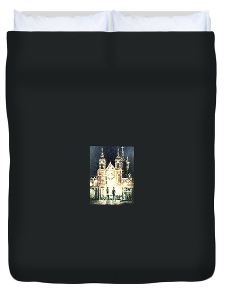 St Nicolaaskerk Church Duvet Cover
