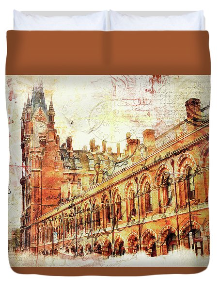 St Pancras Duvet Cover by Nicky Jameson