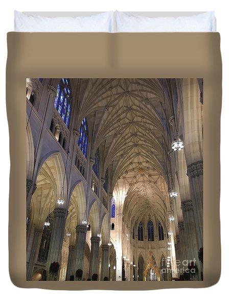 St. Patricks Cathedral Main Interior Duvet Cover