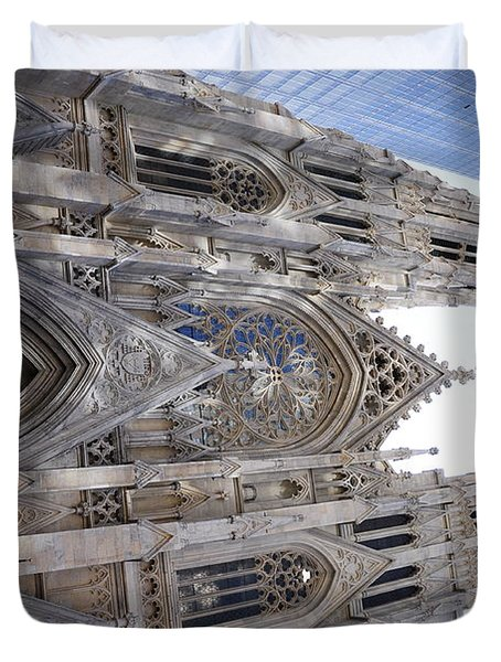 St Patrick's Cathedral Nyc Duvet Cover