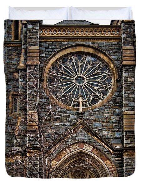 St. Patrick's Church Duvet Cover