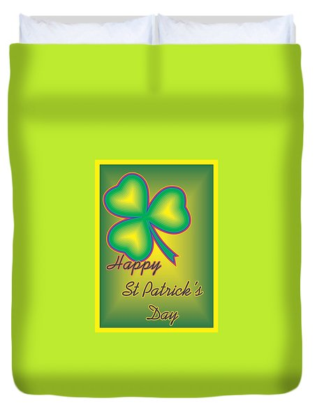 St. Patrick's Day Duvet Cover