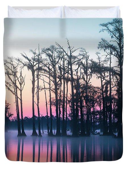 St. Patrick's Day Sunrise Duvet Cover