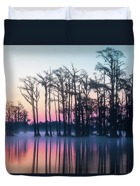 St. Patrick's Day Sunrise Duvet Cover