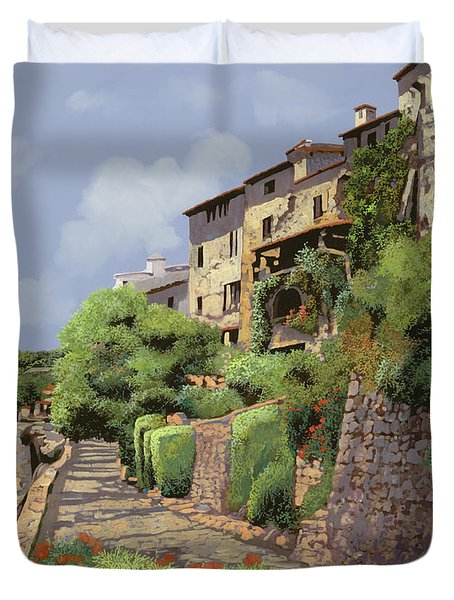 St Paul De Vence Duvet Cover