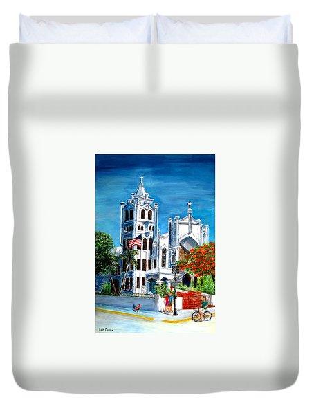 St. Paul's Church  Duvet Cover