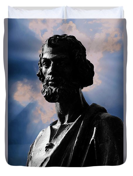 St. Peter Duvet Cover