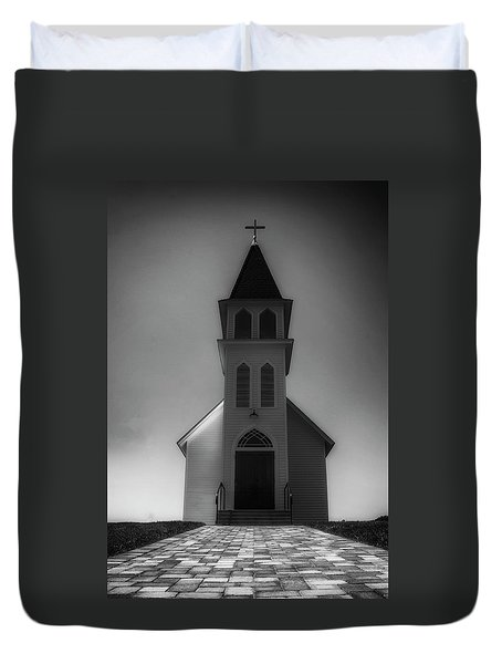 Duvet Cover featuring the photograph St. Peter's Church by Joseph Hollingsworth