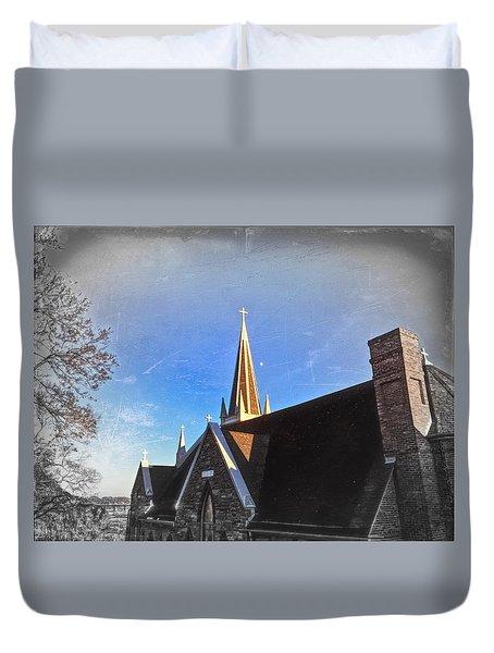 St. Peter's Spire Duvet Cover