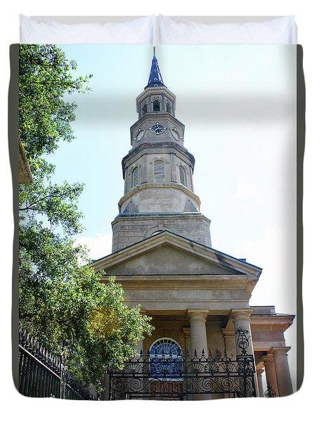 St. Phillips Episcopal Church, Charleston, South Carolina Duvet Cover