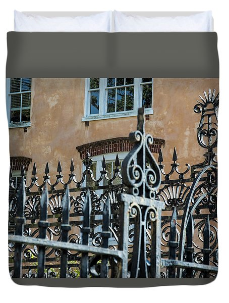 St. Philip's Gate Duvet Cover