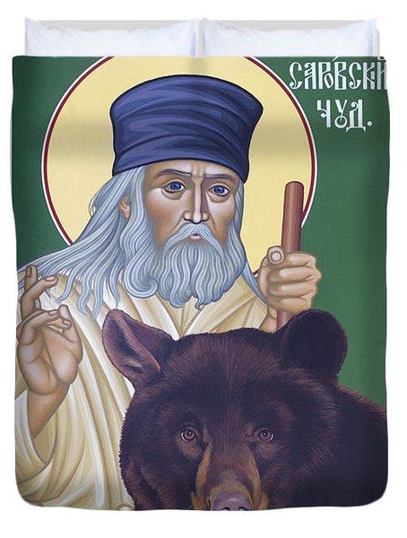 St. Seraphim Of Sarov - Rlses Duvet Cover