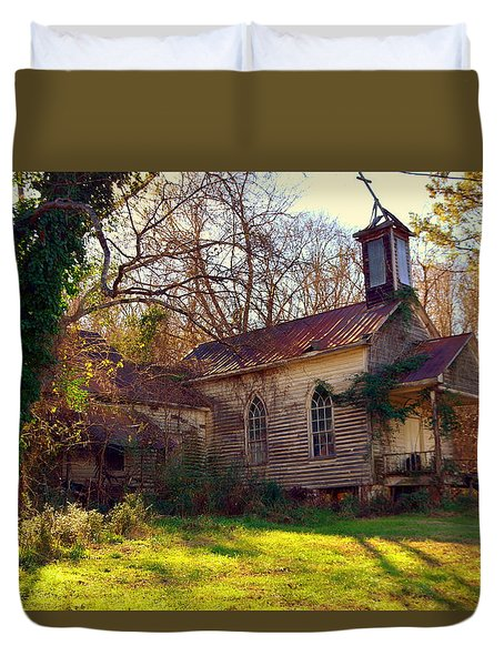St Simon Church Peak Sc Duvet Cover