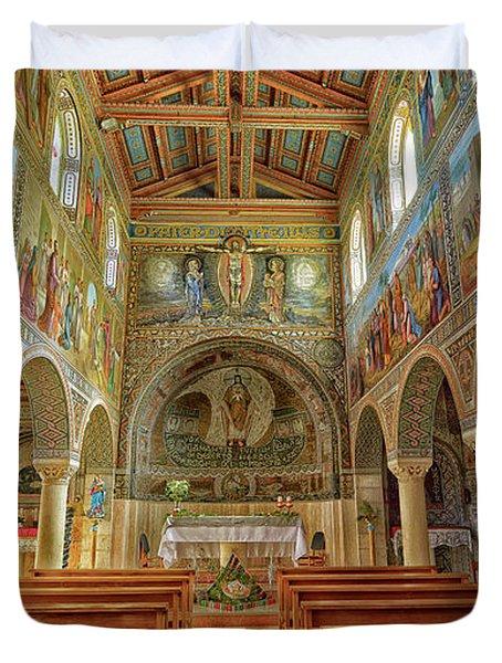 St Stephen's Basilica Duvet Cover