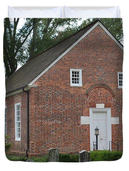 St Thomas Church Duvet Cover