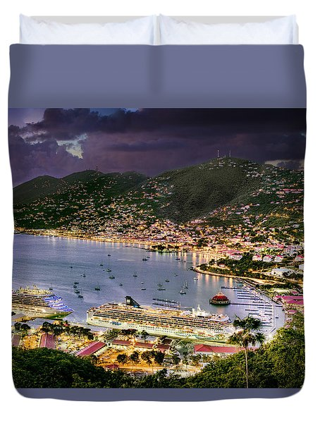 St Thomas Nights Duvet Cover