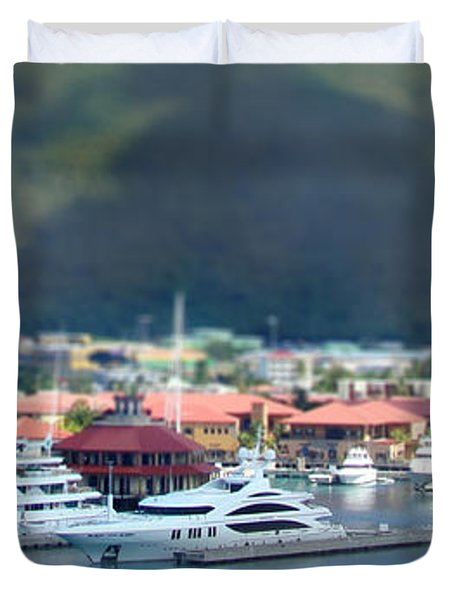 St. Thomas Us Virgin Islands Duvet Cover by Shelley Neff
