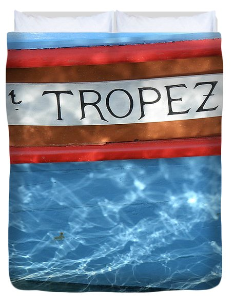 St. Tropez Duvet Cover by Lainie Wrightson