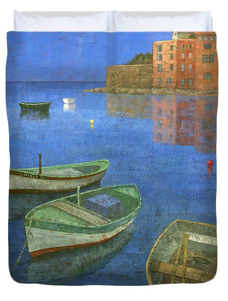 St. Tropez Duvet Cover by Steve Mitchell