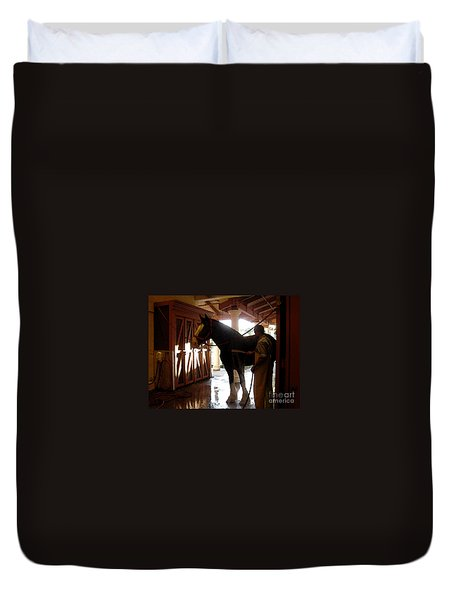 Stable Groom - 1 Duvet Cover