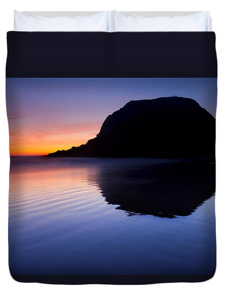 Stack Reflections Duvet Cover by Mike  Dawson