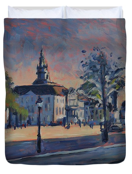Stadhuis Maastricht Duvet Cover