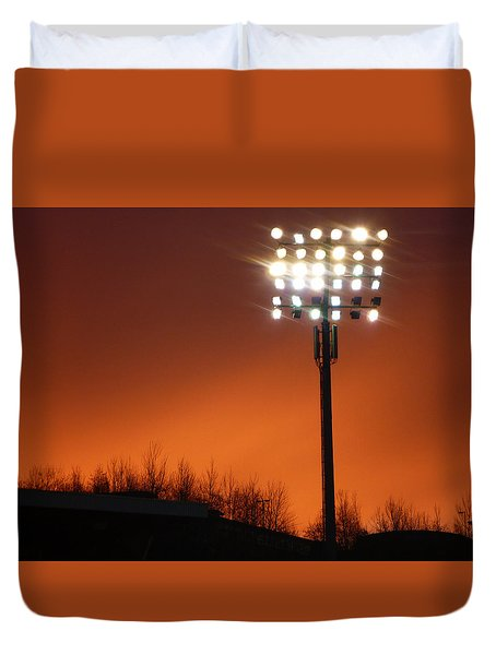 Stadium Lights Duvet Cover