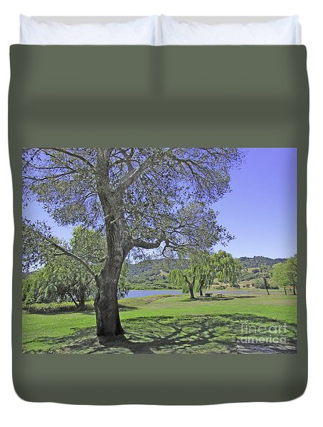 Stafford Lake Beauty Duvet Cover