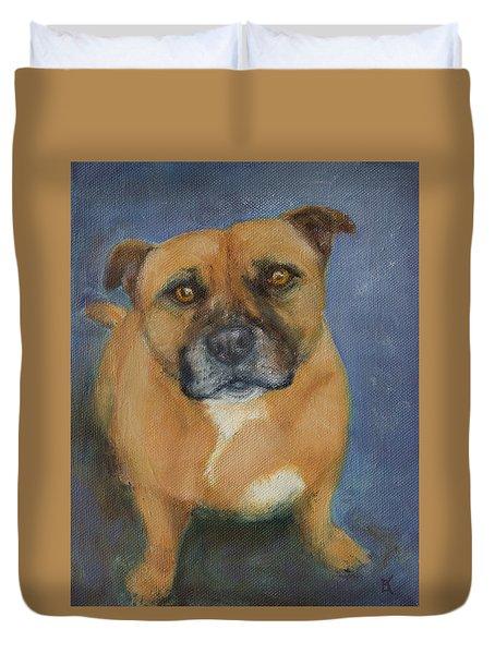 Staffordshire Bull Terrier Duvet Cover