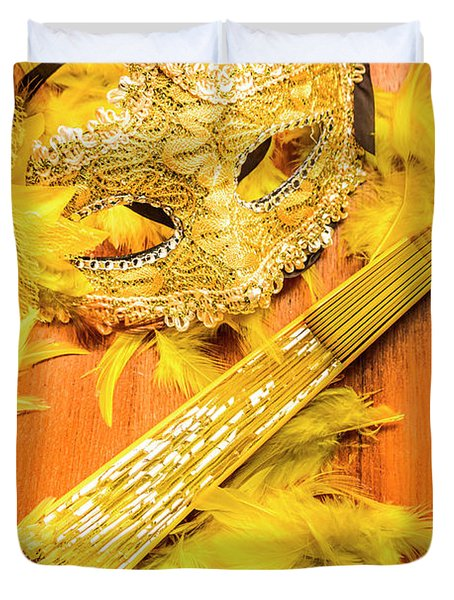 Stage And Dance Still Life Duvet Cover