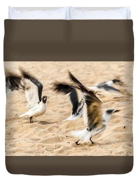 Stages Of Flight Duvet Cover