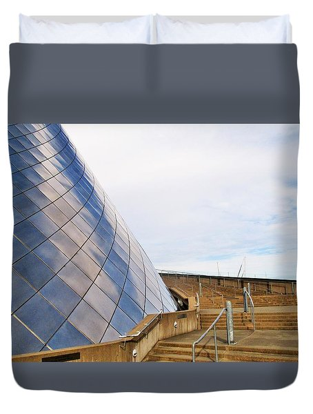 Staircase  Duvet Cover by Martin Cline
