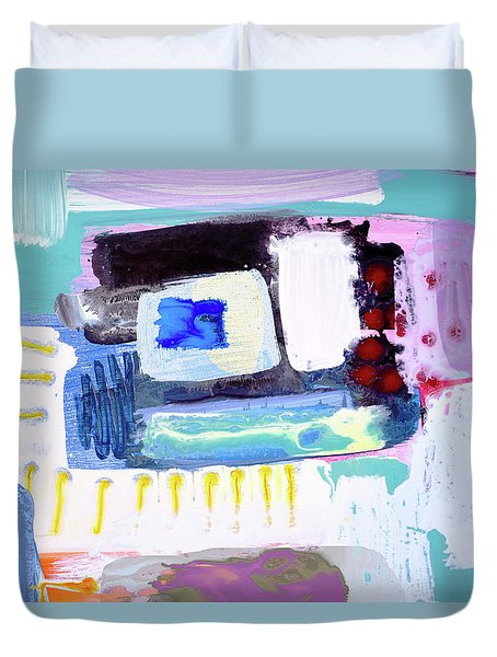 Staircase To Inner Sanctuary Duvet Cover by Amara Dacer
