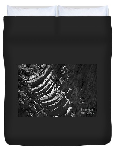 Stairs Of Time Duvet Cover