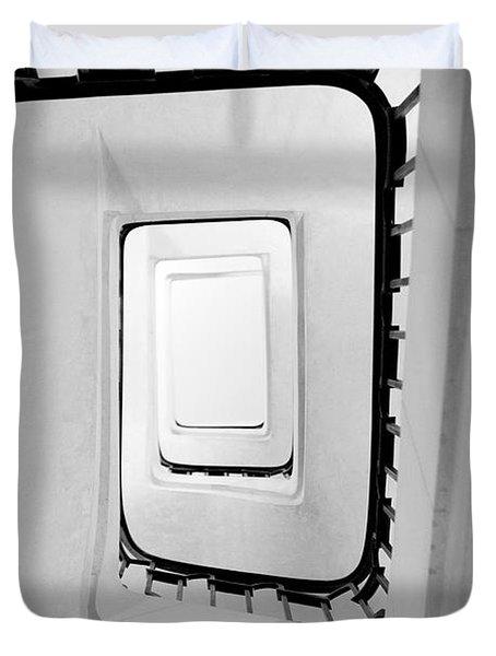 Stairs Duvet Cover by Sebastian Musial