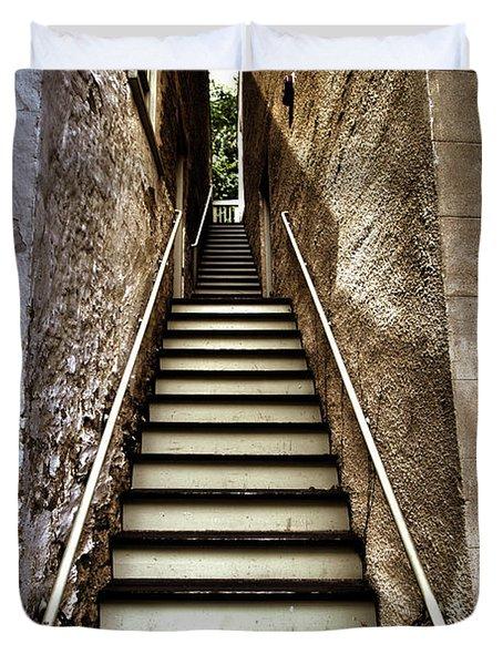 Stairway Duvet Cover