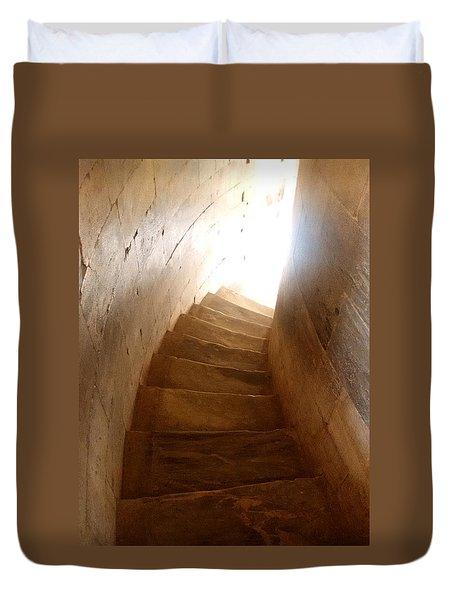 Stairway From Heaven Duvet Cover