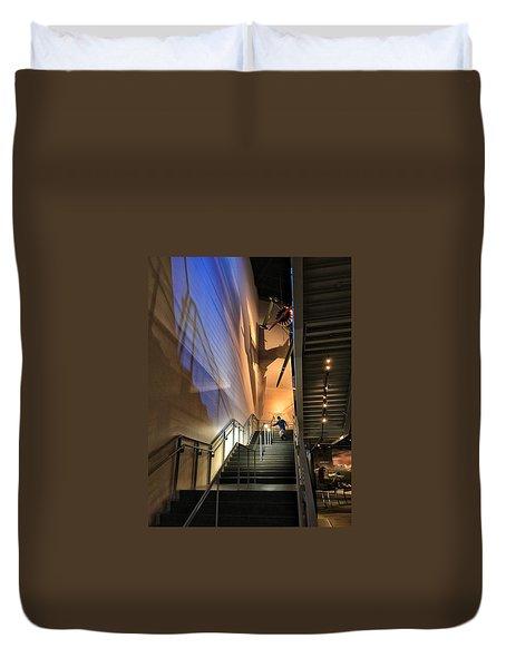 Stairway To Flight Duvet Cover