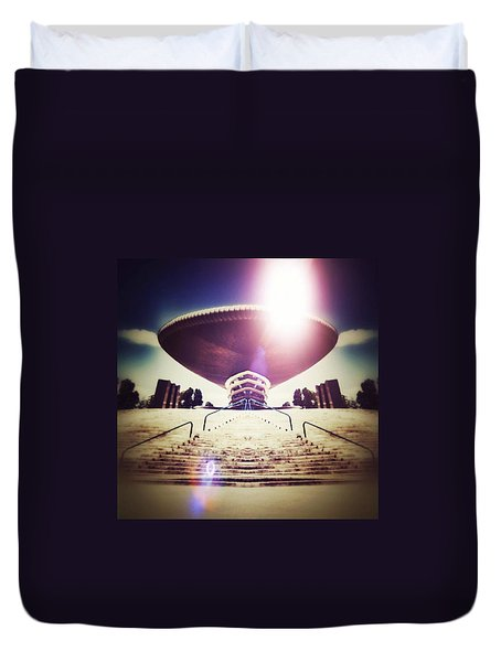 Stairway To Heaven Duvet Cover by Jorge Ferreira
