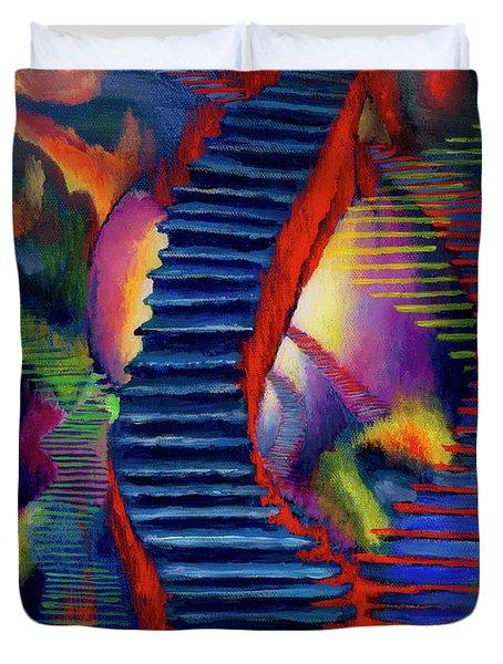Stairways Duvet Cover