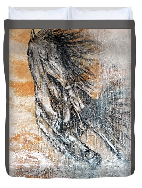 Stallion Fury Duvet Cover