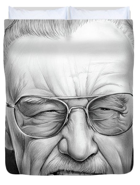 Stan Lee Duvet Cover