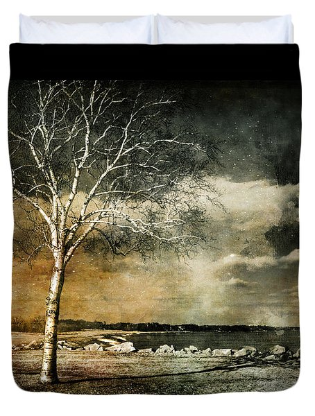 Stand Strong Duvet Cover by Susan McMenamin